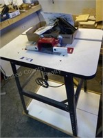 Freud router w/ table & acc.