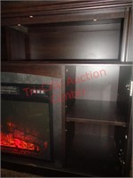 Electric Fireplace entertainment center