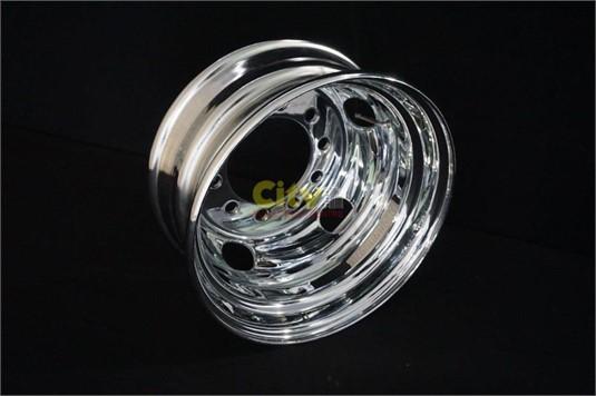 0 Custom Chrome Steel Rims - Parts & Accessories for Sale