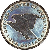 $1 1838 J-84. RESTRIKE. PCGS PR64 CAC