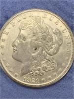Morgan silver dollar 1921 S        (33)
