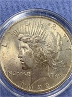 1922 Peace silver dollar        (33)