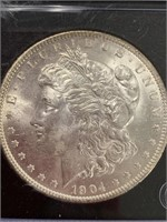 1904 O Morgan silver dollar         (33)