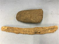 Bag lot of 2 ancient ivory or bone artifacts (M 61