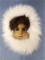 Small Charlene Killbear Anaktuvuk Pass mask with f