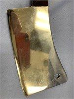 Old meat cleaver, beautifully restored by Michael
