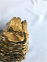 Stabilized fossilized wooly mammoth tooth about 5.