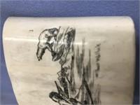 Wilbur Walluk scrimmed ivory socket section about