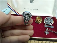 United states army ring, Clay center class ring,