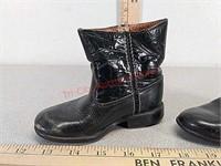 Vintage little boy cowboy boots
