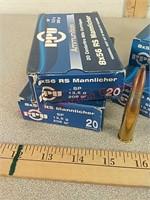 80rds 8x56 rs ammo ammunition