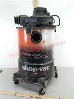 >Portable blower wet/dry 6 gal shop vac, no