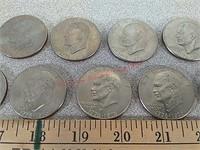 17 Ike Eisenhower $1 Coin currency bicentennial