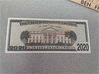 5 Novelty 2020 Donald Trump paper note
