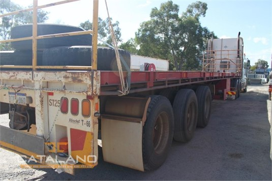 2004 Southern Cross 45ft Flat Top Semi Trailer Catalano Truck And Equipment Sales And Hire - Trailers for Sale