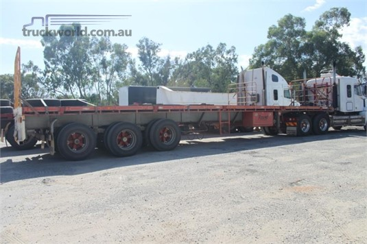 2006 Southern Cross 45ft Flat Top Semi Trailer - Trailers for Sale