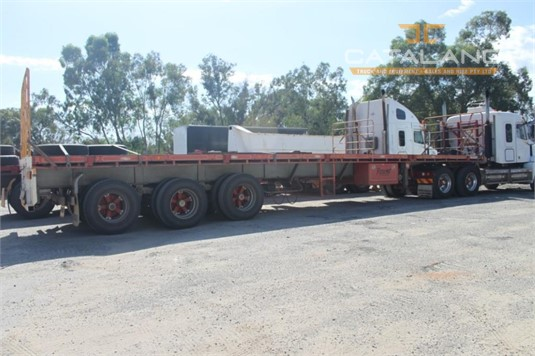 2006 Southern Cross 45ft Flat Top Semi Trailer Catalano Truck And Equipment Sales And Hire - Trailers for Sale