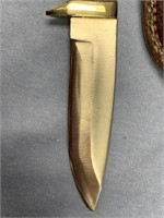 Michael Scott caping knife with fossilized oosicks