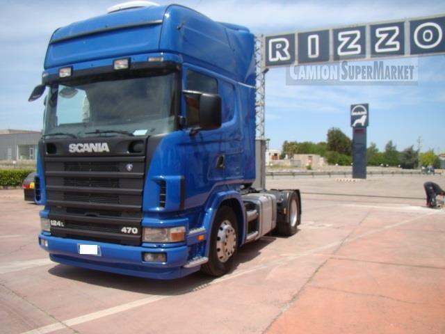 Scania R124L470 Uzywany 2003