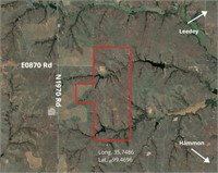Oklahoma Hunting & Ranch Land for Sale 440 Acres