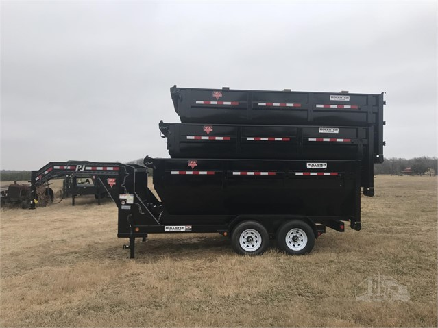 2021 Pj Rollster Roll Off Dump Trailer Dumpster For Sale In Trinidad Texas Www Providence Equipment Com