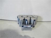 """Lot of (8) Rayovac """"D"""" Batteries"""