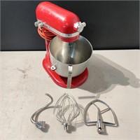 KitchenAid 8 Quart Mixer w/ Attachments