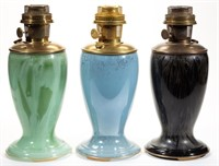 Many Aladdin vase lamps.