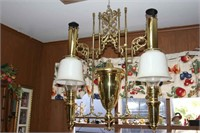 Aladdin No. 112 double chandelier