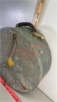 Vintage western lariat lasso time carry case