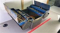 Mechanics tool box with contents