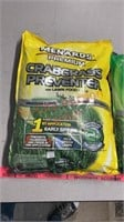 >New menards crabgrass preventer lawn food, and