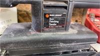 Black & decker finishing sander tested and works,