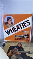 Assorted vinyl records. Wheaties, Elton John,