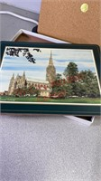 Harrods Knightsbridge cathedral place mats, 12