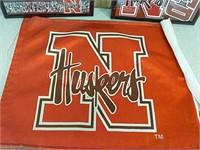 Nebraska corn husker pictures and flag