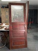 """>31.5"""" Vintage wood door"""