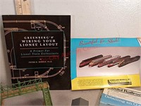Model railway accessories and rain gauges
