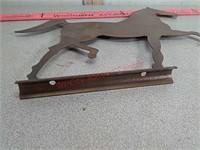 Metal horse mailbox horse?