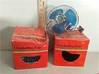 Oscillating fans