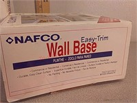 """1 new 1 used wall base trim 4""""×20'"""