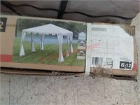 >2 tent / canopies barn find unknown condition