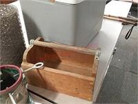 Speaker cooler, chicken wire, 3 Fan, wood box,