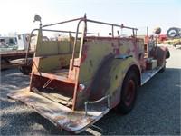 Antique Sea Grave Co. Fire Truck