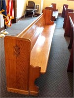 Grant County Ky Fiscal Court Surplus - Courtroom Benches
