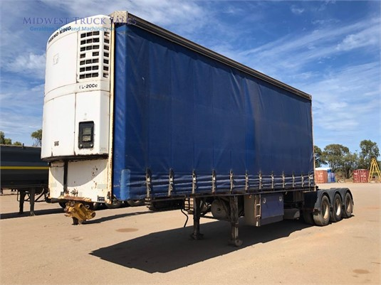 2003 Vawdrey Refrigerated Curtainsider Trailer Midwest Truck Sales - Trailers for Sale