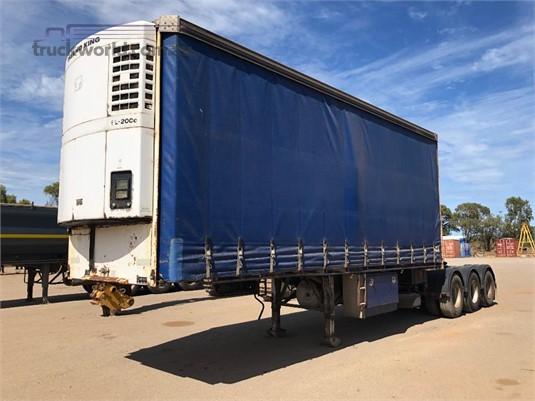 2003 Vawdrey Refrigerated Curtainsider Trailer - Trailers for Sale