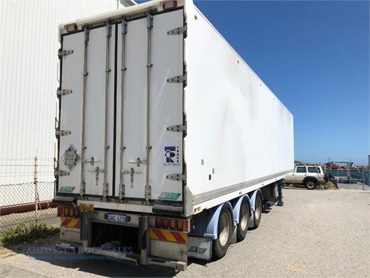 2004 FTE Refrigerated Van Trailer Midwest Truck Sales - Trailers for Sale