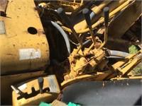 CAT 619 Paddle Wheel Scraper (Project)
