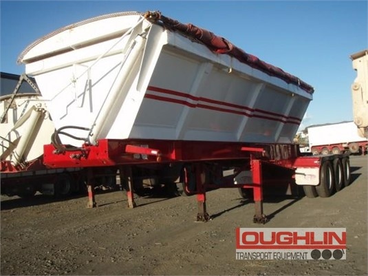 2008 Tristar Tipper Trailer Loughlin Bros Transport Equipment - Trailers for Sale